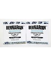 Bernardin Mason Jar Lids - Wide Mouth, 12 Snap Lids (Pack of 2)