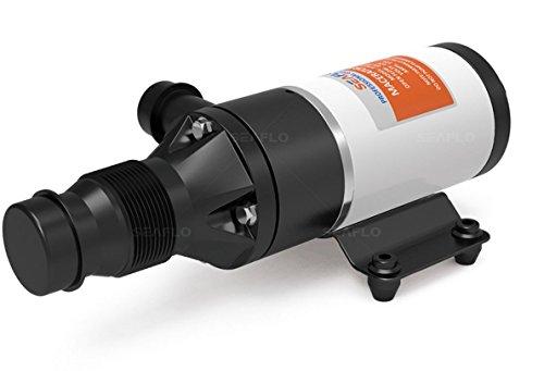 SEAFLO Macerator Pump System 12V for RV Marine 01-Series Improved Motor & Chopping