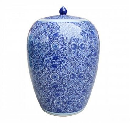 Asian Traditional Chinese Blue & White C - Oriental Style Ginger Jar Shopping Results