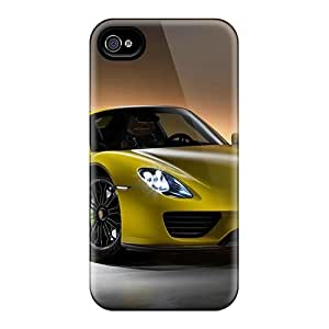 Protection Cases For Iphone 4/4s / Cases Covers For Iphone(2014 Porsche 918 Spyder)