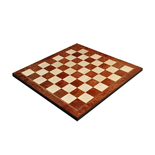 Vavona Burl & Maple Superior Traditional Chess Board - 2.5