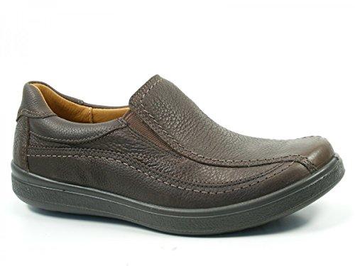 Jomos Zapatos de cuero para hombre Urbanic 420413-37 Braun