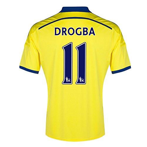 2014-15 Chelsea Away Shirt (Drogba 11)