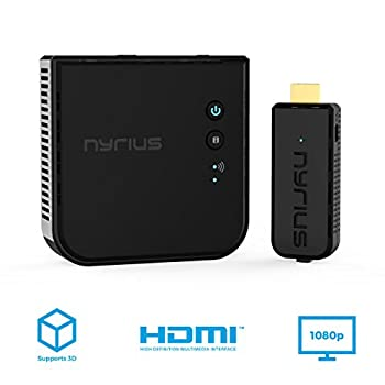 Nyrius Aries Prime Wireless Video Hdmi Transmitter & Receiver For Streaming Hd 1080p 3d Video & Digital Audio From Laptop, Pc, Cable, Netflix, Youtube, Ps4, Xbox One To Hdtvprojector (Npcs549) 5