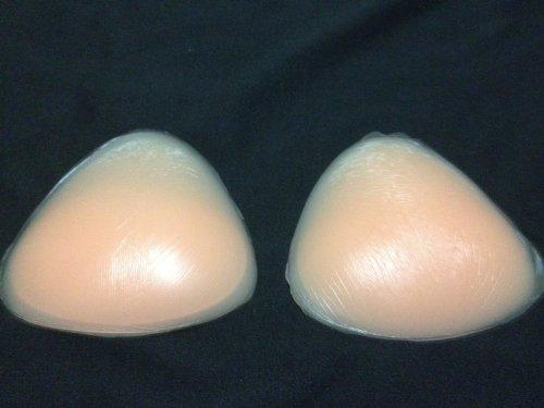 Ushppingcart Triangle Silicone Push-up sein Pads clivage activateur maillot de bain, bikini et de gel de soutien-gorge inserts pour l'été (Nu)