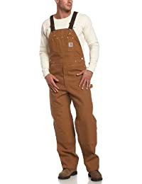 Men's Duck Bib Unlined Overall R01