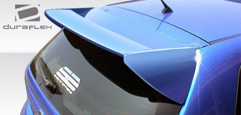 Duraflex Replacement for 2002-2005 Honda Civic Si HB Type M Roof Window Wing Spoiler - 1 ()