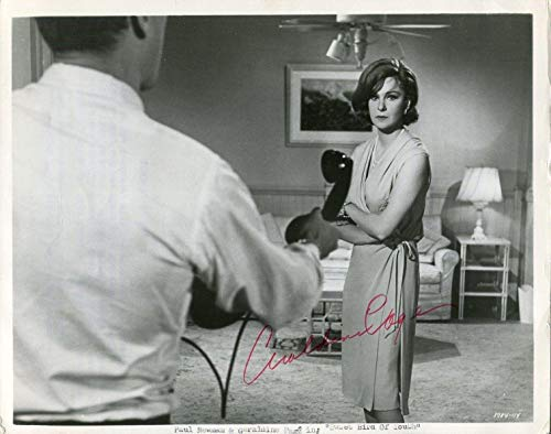 Geraldine Page Sweet Bird of Youth Signed Autograph Photo With Paul Newman ()