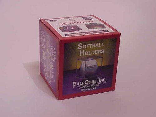 BallQube Softball Cube Clear 2 Piece (Cube Lock)