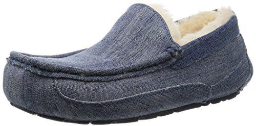 Navy Denim Ascot Denim Men's Slippers qaxgtgIdwr