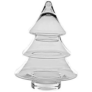 Tier Christmas Tree Glass Jar