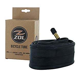 "Zol MTB Bicycle Bike Bicycle Inner Tube 26"" x1.95/2.125 Schrader VALVE48mm"
