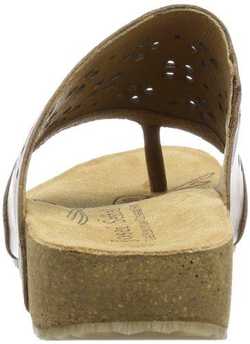 Josef Seibel Tonga 10 - Chanclas de cuero mujer marrón - Braun (brandy)