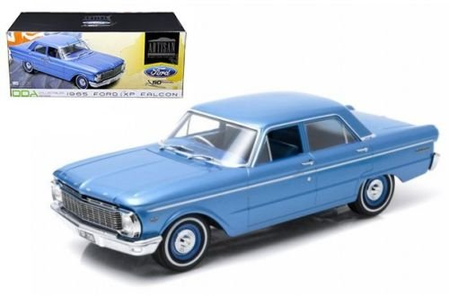 New 1:18 ARTISAN COLLECTION - BLUE 1965 FORD XP FALCON (50TH ANNIVERSARY) Diecast Model Car By Greenlight