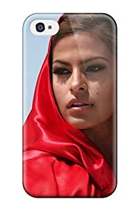 Hot Design Premium EflZNVk372EvHda Tpu Case Cover Iphone 4/4s Protection Case(eva Mendes)