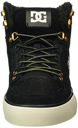 DC Universe Spartan WC WNT, Sneaker Alte Uomo Nero (Schwarz (Black Camo - Blo))