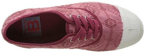 Bensimon Tennis Lacet Broderie Anglaise - Botas Mujer Rose (Rose)