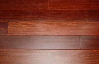 "Kingsport Santos Mahogany Classic 9/16"" x 5"" Exotic Engineered Hardwood Flooring AF011 SAMPLE"