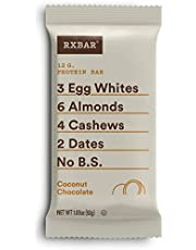 RX Bar Coconut Chocolate, 52g, 12 count