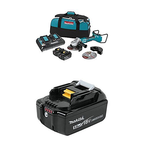 Makita Electric Brake - Makita XAG12PT1 18V X2 LXT Lithium-Ion (36V) Brushless Cordless 7