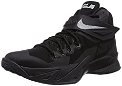 Nike Zoom Soldier Viii Blackout Men Basketball Shoes New Black