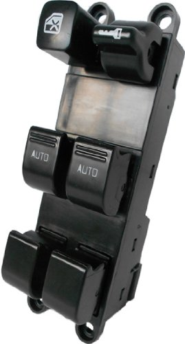 SWITCHDOCTOR Window Master Switch for 1998-2001 Nissan Altima ADDED AUTO FUNCTIONALITY ON PASSENGER WINDOW