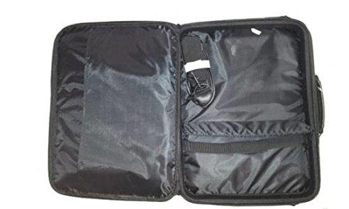 Link ACCESSORI lp711315.6Koffer schwarz Tasche von Laptops–Taschen von Laptops (39,6cm (15.6), Koffer, schwarz, monoton, staubgeschützt, kratzfest, stoßfest, spritzwassergeschützt, 420mm)