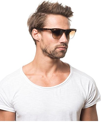 0d8f15e869 Ray-Ban Unisex Clubmaster Oversized RB4175 Sunglasses New Summer Style 2018