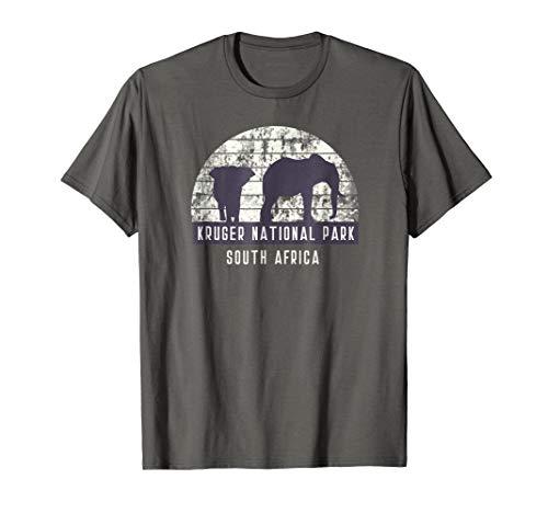 Men's Elephant South African Safari National Park T Shirt