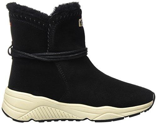 Donna N00 Black Stivali FOOTWEAR Arricciati Nero Doris NAPAPIJRI qa6Aw4B