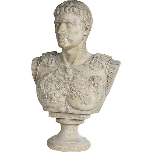 Whimsical Treasures by AFD Home  10772792 Augustus Caesar Bust Decorative Accent