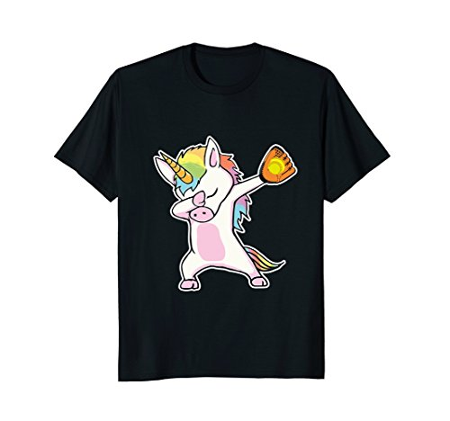 Softball Dabbing Unicorn Funny Shirt