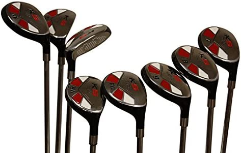Big Tall Golf Hybrids All True Hybrid XL Majek 2 Longer Than Standard Length Plus Two Inches Longer Set All Complete Full Set Includes XXL 3 4 5 6 7 8 9 PW Regular Flex R Right Handed New Extra Long Rescue Utility Club