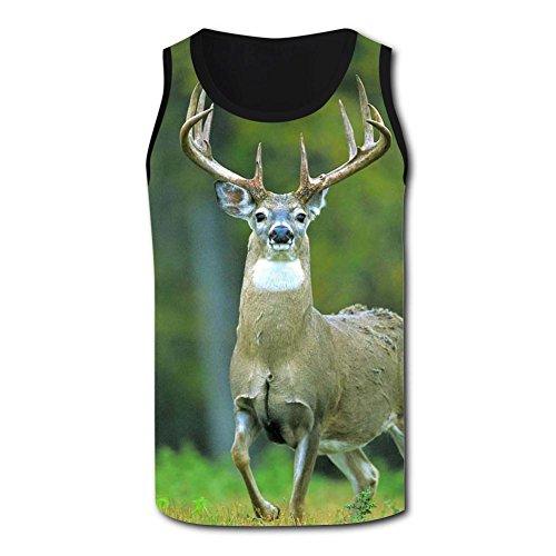 Gjghsj2 Old Deer Tank Top Vest Shirts Singlet