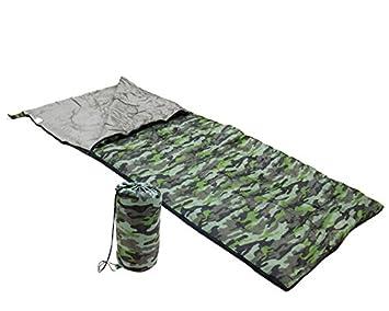 Saco de Dormir Adventure Goods 36088 (190 x 75 cm) Verde: Amazon.es: Deportes y aire libre