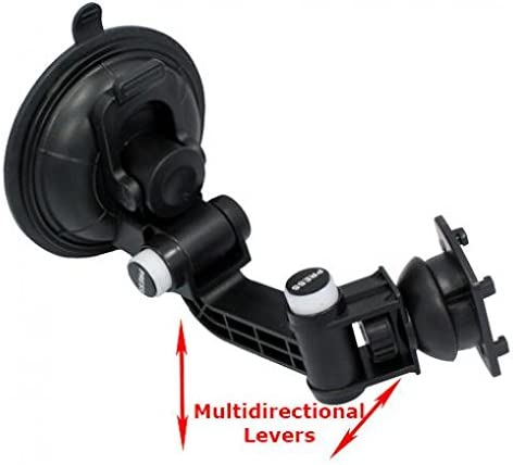 2019 Car Mount Dash Windshield Holder Cradle Swivel Dock Suction Stand Compatible with Alcatel 3V