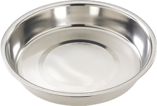 Ethical 10-Inch Stainless Steel Puppy Dish (Stainless Steel Pan Puppy)