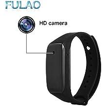 FULAO Spy Camera 1080P HD Wristband Hidden Portable Video Recorder Bracelet Camera