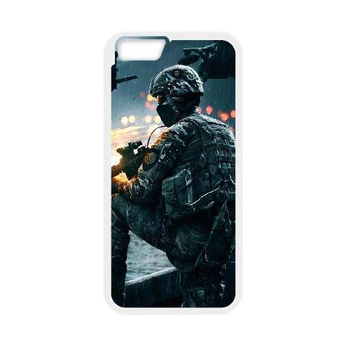 Battlefield Mobile Game Wallpaper X 33 iPhone 6 della copertura della cassa 4,7 pollici copertura bianca del telefono cellulare caso EBDOBCKCO08843