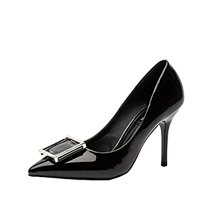 Ryse Women's Fashionable Decorations Delicate Elegant Temperament High Heels Pointy Shoes