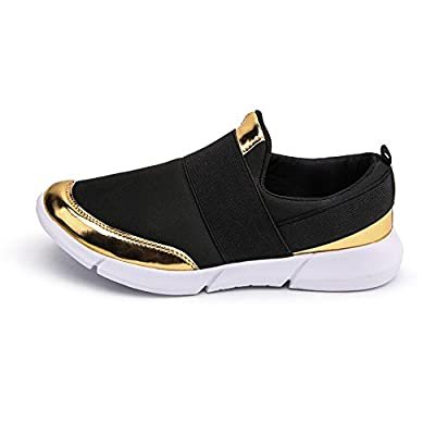Cailing Women's Breathable Summer Slip On Walking Shoes Athletic Lightweight Ladies Fashion Sneakers