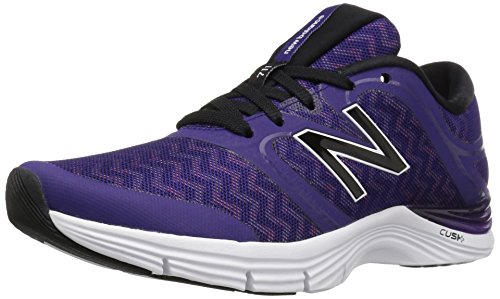 New Balance Femme Wx711cm2d'entraînement Chaussures de course à pied - violet - Black Plum/Zig Zag Violet Glow Graphic/Bleached Sunrise,