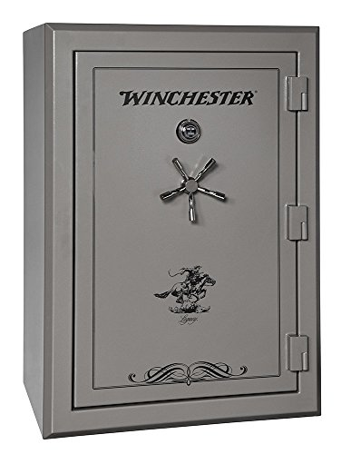 Winchester Safes Legacy 44, 51 Gun Safe, 2.5 Hour Fire Rating, U.L. Listed Mechanical Lock,