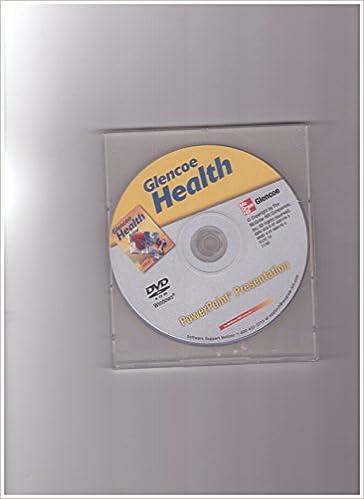 Glencoe Health PowerPoint Presentation McGraw Hill Glencoe