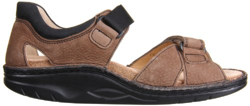 Finn Comfort Womens Samara-1560 Mud/Black Sanchos/Buggy 53OwzM