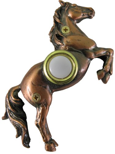 Waterwood Bronze Plated Horse (Solid Bronze Horse)