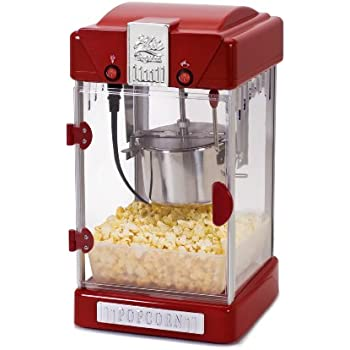 Exceptionnel Elite Deluxe EPM 350 Maxi Matic 2.5 Ounce Classic Tabletop Popcorn Popper  Machine With