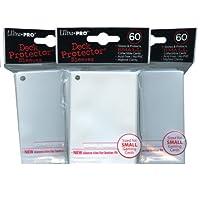 Ultra Pro Card Supplies Fundas protectoras para cubiertas YuGiOh tamaño blanco 60 cuentas x3