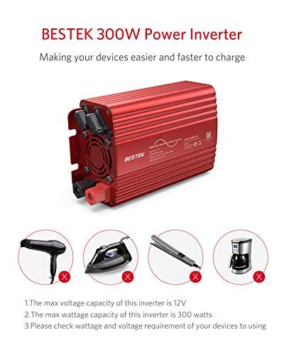 41cCkbuP%2BCL Wechselrichter 500W Reiner Sinus/Spannungswandler 12v 230v mit 4.2A Dual Smart USB-Anschlüsse Adapter Netzteil Kfz…