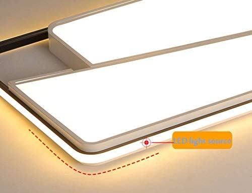 ZC Deckenstrahler-Moderne LED-Deckenleuchte Geometrische dekorative Beleuchtung für Wohnzimmer Schlafzimmer, Deckenleuchte für Küche Wohnzimmer & Schlafzimmer / # 2 / Warmes Licht